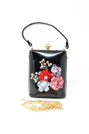 Nadya's Closet Patent Leather Floral Bag - Other