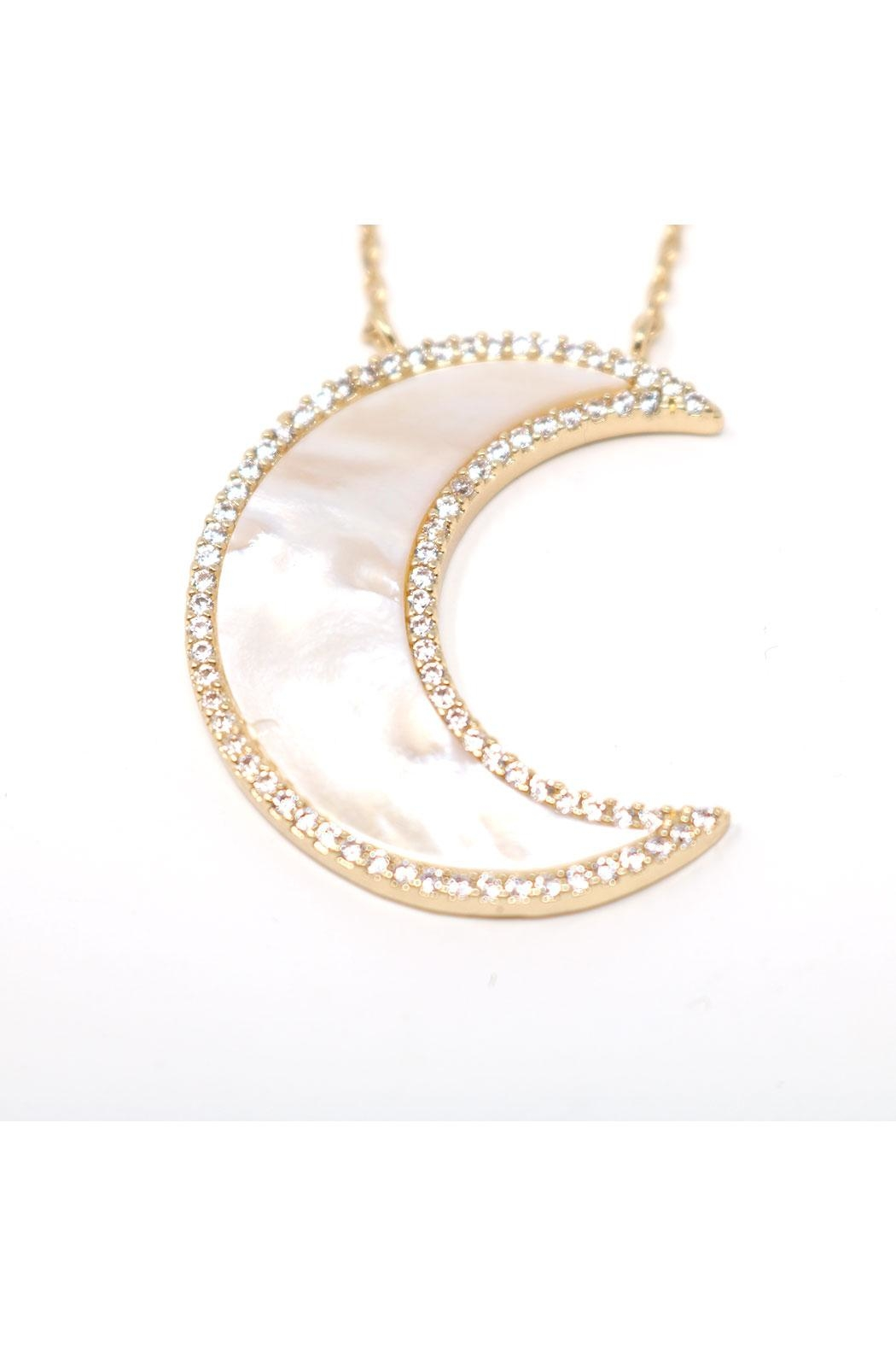 Nadya's Closet Paved Pearl Crescent - Main Image