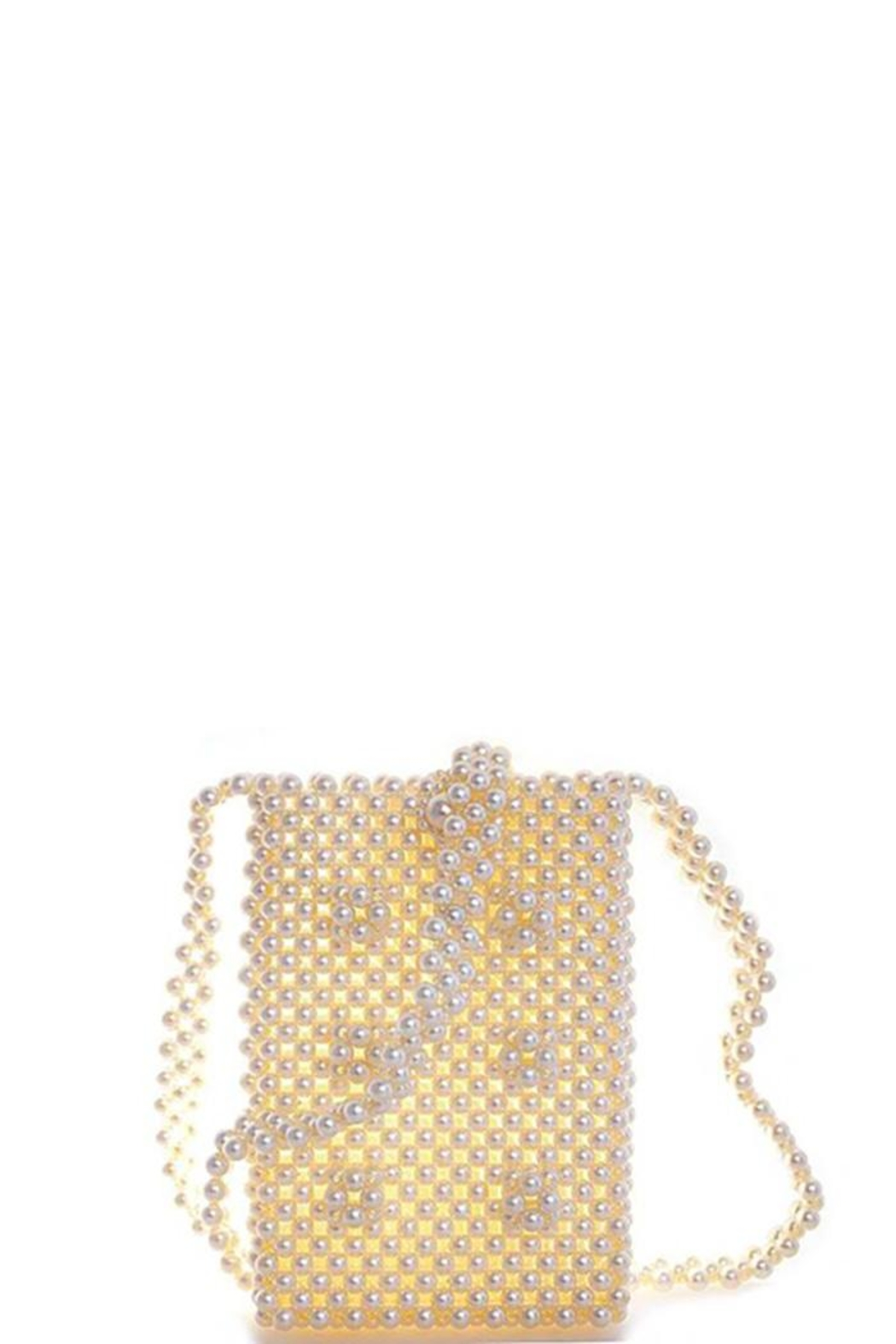 Nadya's Closet Pearl Sequence Cross-Body - Side Cropped Image