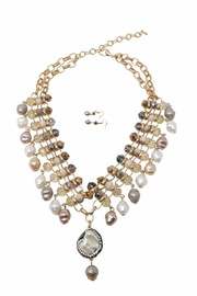Nadya's Closet Pearl Statement Necklace - Product Mini Image