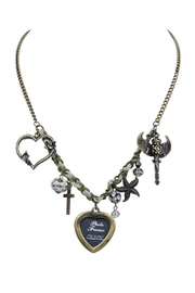 Nadya's Closet Photo Frame Necklace - Front cropped