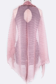 Nadya's Closet Pleated Convertible Shawl-Scarf - Other