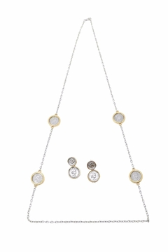 Shoptiques Product: Queen Coin Necklace Set