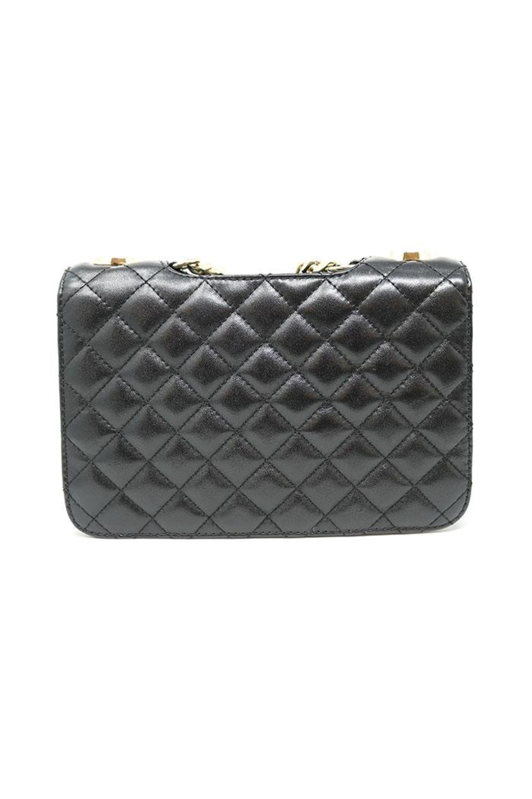 Nadya's Closet Quilted Messenger Bag - Front Full Image
