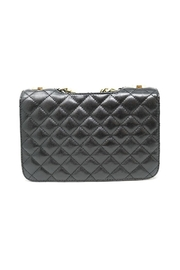 Nadya's Closet Quilted Messenger Bag - Front full body