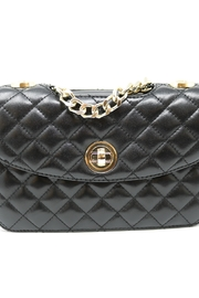 Nadya's Closet Quilted Messenger Bag - Side cropped
