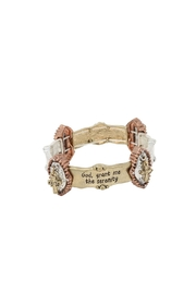 Nadya's Closet Religious Bracelet - Front cropped