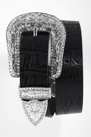 Nadya's Closet Rhinestone Buckle Belt - Product Mini Image