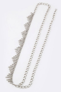 Nadya's Closet Rhinestone Chain Belt - Alternate List Image