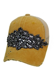 Nadya's Closet Rhinestone Embellished Trucker Hat - Product Mini Image