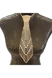 Nadya's Closet Rhinestone Tie Necklace - Product Mini Image
