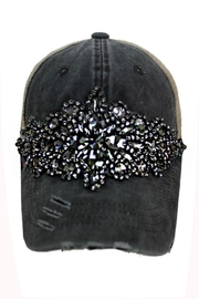 Nadya's Closet Rhinestone Trucker Cap - Product Mini Image