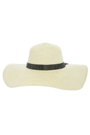 Nadya's Closet Rose Patched Floppy-Hat - Side cropped
