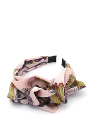 Nadya's Closet Ruffled  Fashion Headband - Front cropped
