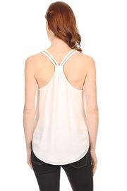 Nadya's Closet Scoop Neck Lace-Back - Front full body