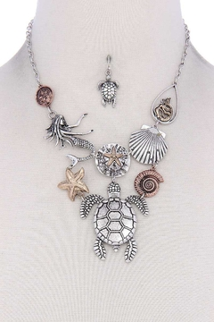 Shoptiques Product: Sea Life Necklace Set