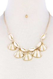 Nadya's Closet Sea Shell Necklace-Set - Product Mini Image