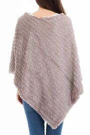 Nadya's Closet Shimmery Sequin Poncho - Front full body