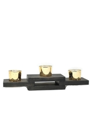 Nadya's Closet Solid Pine Candle Holder - Product Mini Image