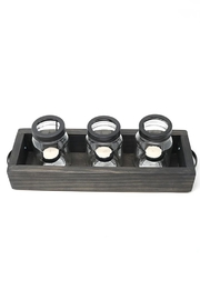 Nadya's Closet Solid Wood Tray With Handles. - Other