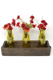 Nadya's Closet Solid Wood Tray With Handles. - Product Mini Image