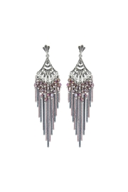 Nadya's Closet Sparkle Star Earrings - Product Mini Image
