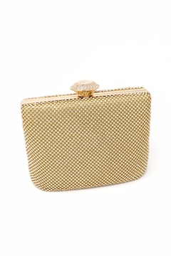 Nadya's Closet Stone Accent Evening Clutch - Product List Image