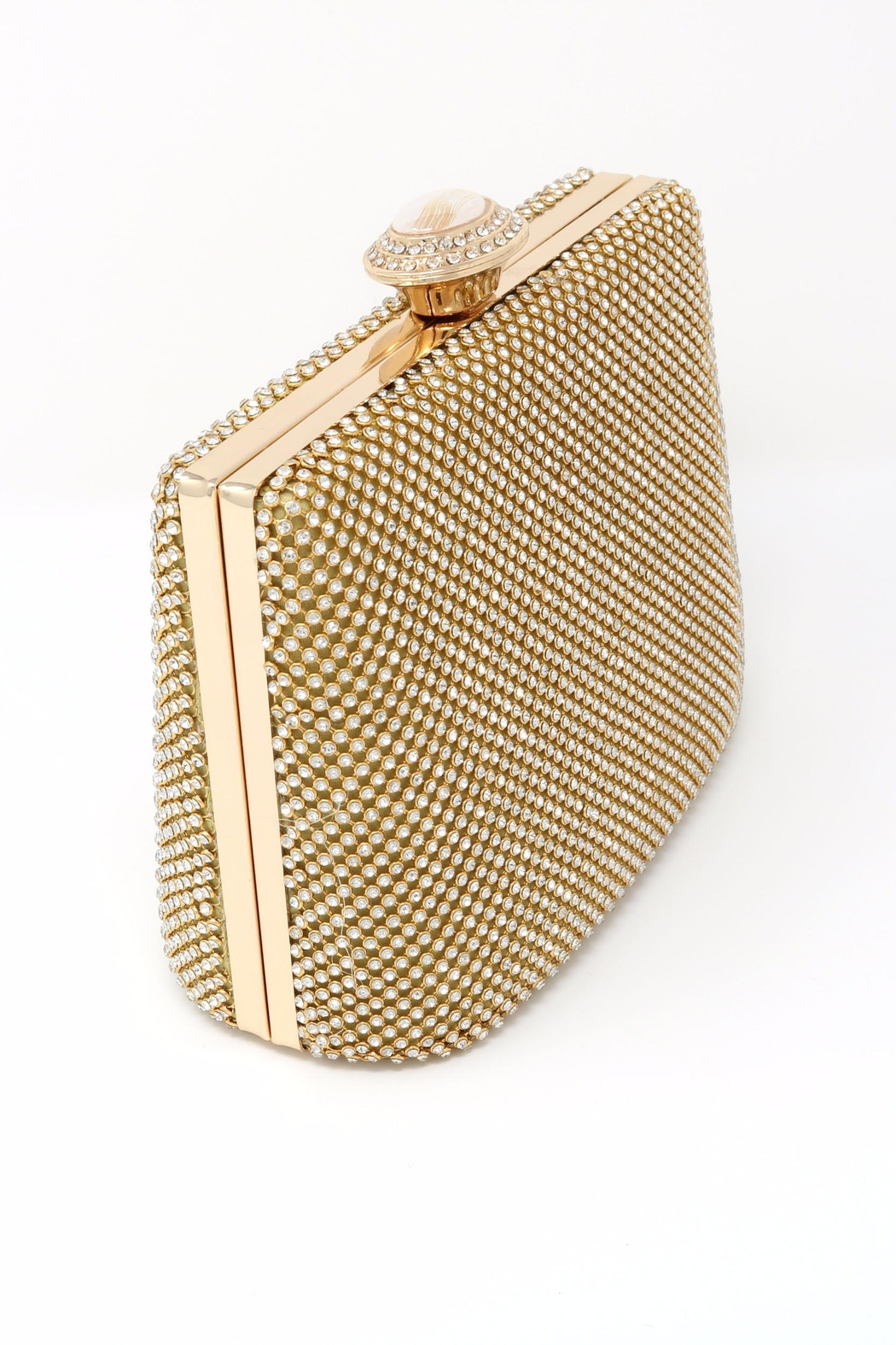 Nadya's Closet Stone Accent Evening Clutch - Side Cropped Image