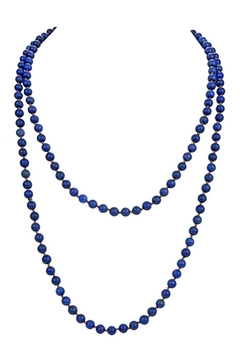 Shoptiques Product: Stones Simple Style Long Beaded Necklaces