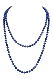 Nadya's Closet Stones Simple Style Long Beaded Necklaces - Front cropped