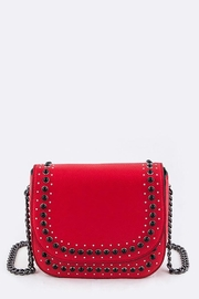 Nadya's Closet Studded Crossbody Bag - Front cropped