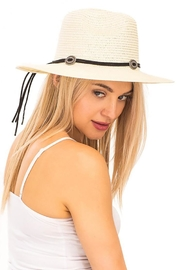 Nadya's Closet Suede Rope Panama-Hat - Side cropped