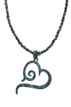 Shoptiques Product: Swirl Heart Necklace