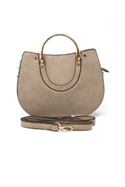 Nadya's Closet Textured Round Satchel - Product Mini Image