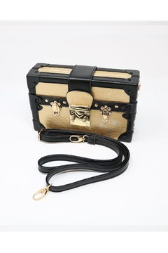 Shoptiques Product: Treasure Chest  Box-Clutch