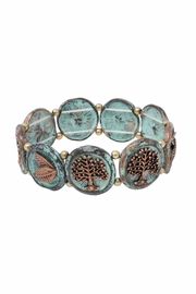 Nadya's Closet Tree Accent Bracelet - Front cropped