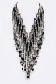 Nadya's Closet Tribal Bead Bib-Necklace - Product Mini Image