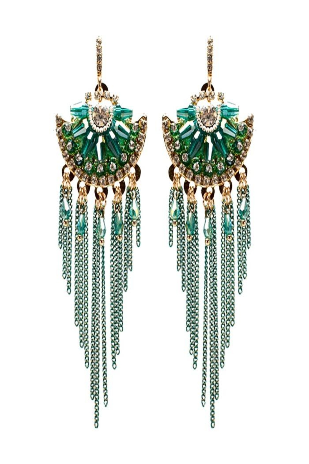 Nadya's Closet Tribal Chic Earring - Front Cropped Image