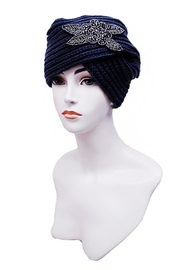 Nadya's Closet Turban Styled Beanie - Front cropped