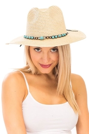 Nadya's Closet Turquoise Rock Panama-Hat - Product Mini Image