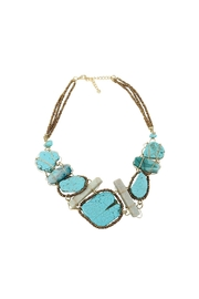 Nadya's Closet Turquoise Statement Necklace - Product Mini Image