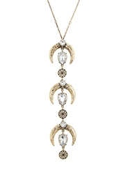 Nadya's Closet Tusks Trio Necklace - Back cropped