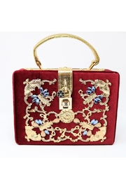 Nadya's Closet Velvet Boxy Satchel - Product Mini Image