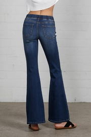 Nadya's Closet Wide Elastic Banded Flare Jeans - Other