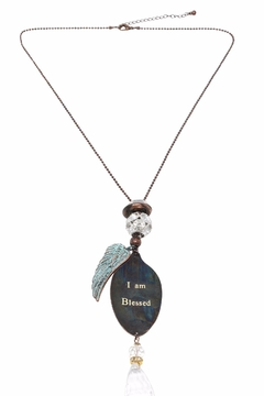 Shoptiques Product: Wing & Spoon Necklace