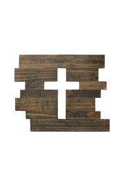 Nadya's Closet Wooden Cut Out Cross - Product Mini Image