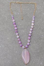 Nadya's Closet Zamora Semi-Precious Necklace - Product Mini Image