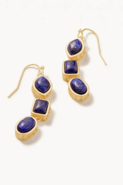 Spartina 449 Naia Linear Drop Earrings - Front cropped