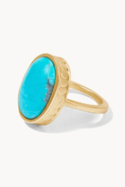 Spartina 449 Naia Oval RIng - Front cropped