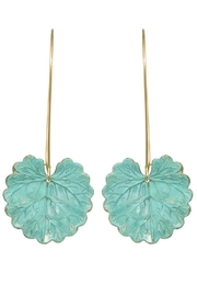 We Dream In Colour Hand Painted Naiad Earrings - Product Mini Image